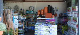 Fertilisers, mulch, gardening tools and more